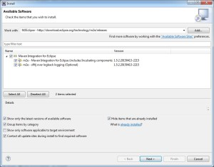 Eclipse Software Repository